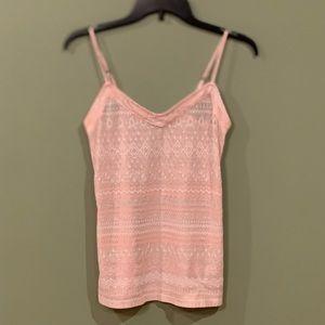 5 for $25 - Pink Shimmer Tank